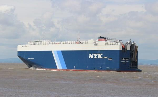 NYK car carrier rescues 336 from vessel in Mediterranean Sea