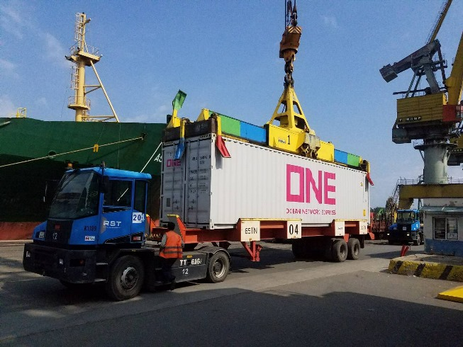 ONE LINE UNIT AT BOURGAS PORT