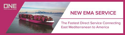 ONE STARTS NEW MED-US ECOAST SERVICE